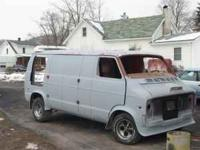 1977 dodge van for sale $1500.00 whole or parts low