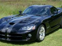 This 2008 Dodge Viper 2dr SRT-10 Coupe features a 8.4L
