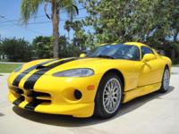 2001 Dodge Viper GTS ACR. Owned since 2003 by the same