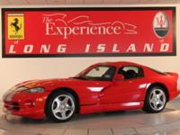 2002 Dodge ViperWith only 900 miles this Viper is