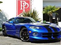 Low-mileage 1997 Dodge Viper GTS Coupe in GTS Blue over