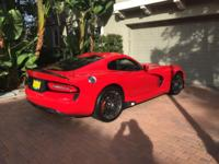 Pristine 2014 Dodge Viper GTS Coupe. Just 121 Days Old!