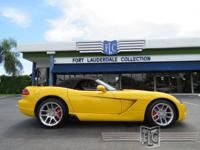 This 2005 Dodge Viper 2dr SRT10 Roadster features a