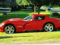 1995 Dodge Viper RT/10 Roadster, 33K original miles.