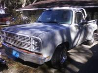 1977 DODGE WARLOCK STEEP SIDE BED CLEAR FL TITLE NEEDS