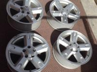 "For sale dodge rims 17"". They are in excellent"