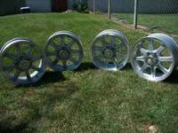 Nice set of 4 Dodge wheels that will fit a 2002-2010