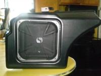 Subwoofer & enclosure came out of my 2006 Dodge Charger