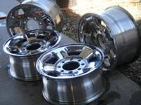 4 steel, chrome clad, factory, original equipment,   *