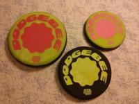 Dodgebee Soft discs. New. Washable. Made with a nylon