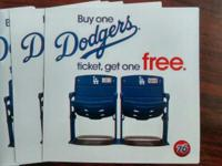 Event Type:SportsEvent:Games Dodgers buy one ticket get