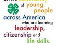 Does your child want to be involved in 4H? We are a