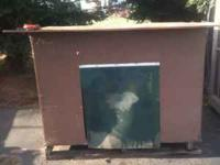Used Very Large Home Made Dog House, heavy duty, well
