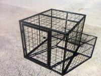 Custom heavy duty cage for back of truck. A necessity