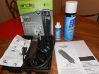 THIS ANDIS II PROFESSIONAL DOG CLIPPERS COME WITH A