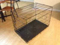 I am selling my dog's crate because I am getting her a