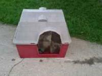 Nice Medium Size Dog House Asking $20.00 Let me know if