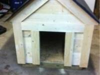 Large dog house just built ready to go. Call or text