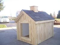 For sale: Large dog house. This is a perfect size house