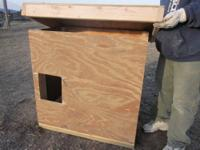 Our dog house is designed to last years. It can easely