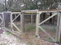 3 x Large Runs/Kennels/Dog SheltersDismantled for your