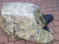 camo dog kennel cover for XL and XXL dog crates. Great
