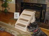 FOR SALE: Set of new doggie steps, to help your pet