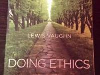 offering my Doing Ethics book, 2nd edition. In