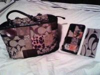 Dolce Gabana purse, Dooney & Burke purse and Coach