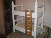 doll beds hand made from wood,they are 16 to 18 inches
