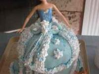 Birthday Specialty Cakes - Doll Cakes & More
