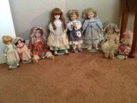 I am offering my doll collection.  I have a total