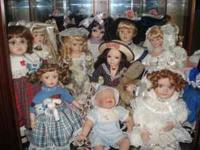 Porcelain Doll Collection - way to many to count, but