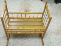 Doll Cradle in great condition. (See attached pictures)