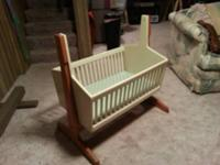 Bought this rocking baby crib for my daughter to put