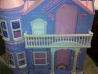 I have a fold up doll house for sale. My girls just