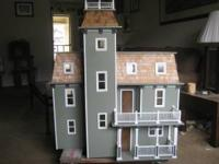 BEAUTIFUL DOLL HOUSE NEVER PLAYED WITH...