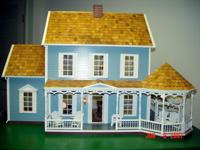 Doll House, Custom Doll House Electricity, Furniture