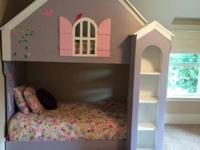 Handmade doll house bunk bed. Good condition. Comes