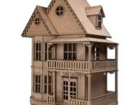 Tennyson Dollhouse Kit Greenleaf Dollhouses Laser Cut