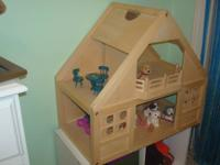 This is a wonderful sturdy dollhouse. Numerous hours of