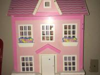 I have this doll house I bought for my child she did