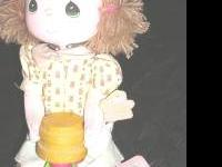 Precious Moments Dolls Of The Month Doll. September.