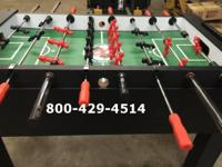 We have a few brand new Warrior Pro Foosball Tables