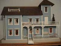 This dollhouse was built in Greenville appr. 40 years