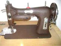 For Sale: Domestic sewing machine in a light blonde