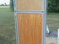 Electric/LP RV Refrigerator-Freezer. (Used)