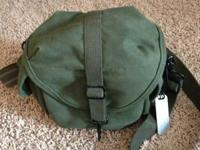 Domke F8 Small Shoulder Bag.  I received this as a gift