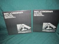 Don Anderson and the Eclectric Orchestra Album $5.00