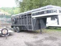Livestock trailer, Rawhide Co Inc, 16 foot, pressure